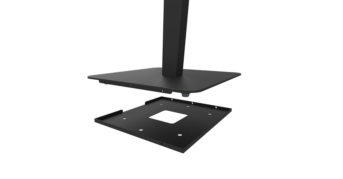 Hockey floor stand